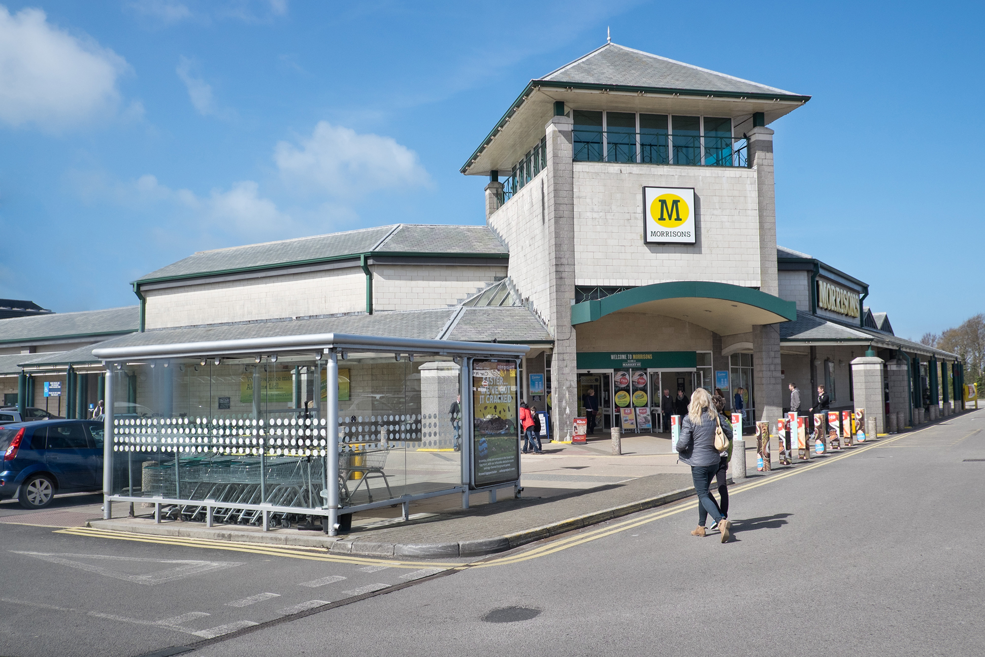Morrisons Supermarket, Newquay